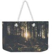 Woods Sunset Weekender Tote Bag