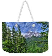 Woods Surrounding Mt. Rainier Weekender Tote Bag