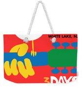 Woodstock Weekender Tote Bag