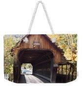 Woodstock Middle Bridge Weekender Tote Bag