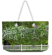 Woodstock Village Lilacs Weekender Tote Bag