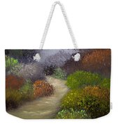 Woodsy Morning Weekender Tote Bag