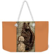 Woof And The Girl Weekender Tote Bag