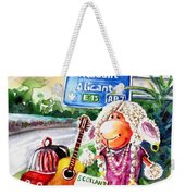 Woolhelmina The Scottish Sheep Playing Flamenco Weekender Tote Bag