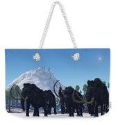 Woolly Mammoth Weekender Tote Bag