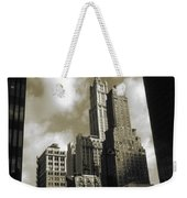 Old New York Photo - Historic Woolworth Building Weekender Tote Bag