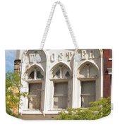 Wooster Building Weekender Tote Bag