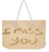 Words Of Loss Weekender Tote Bag