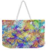 Work 00101 Abstraction Weekender Tote Bag