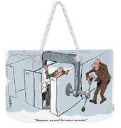 Work Pressure. Weekender Tote Bag