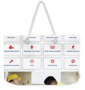 workerscompensationlawyer Infograpics Weekender Tote Bag