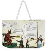 Workie Cartoon, 1829 Weekender Tote Bag