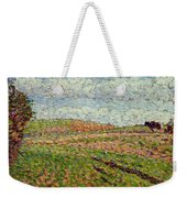 Working At Eragny 1886 Camille Pissarro Weekender Tote Bag
