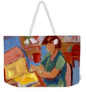 Working At The Former New York State Head Injury Association Weekender Tote Bag