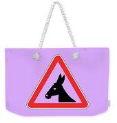Working Bigstock Donkey 171252860 Weekender Tote Bag