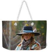 Working Cowgirl Weekender Tote Bag