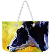 Working Girl - Holstein Cow Weekender Tote Bag