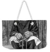 Working Hands Bw Weekender Tote Bag