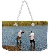 Working The Creeks Weekender Tote Bag