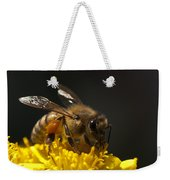 Working The Flower Weekender Tote Bag