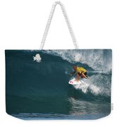 World Champion In Action Weekender Tote Bag