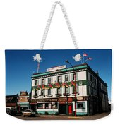 World Famous Alaska Hotel Weekender Tote Bag