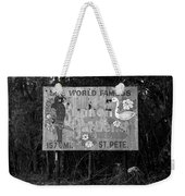 World Famous Sunken Gardens Weekender Tote Bag