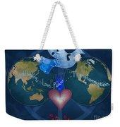 World Healing Inspirational Weekender Tote Bag