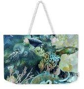World In The Sea Weekender Tote Bag