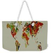 World Map 02a Weekender Tote Bag