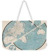 World Map - 1857 Weekender Tote Bag