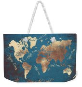 World Map 2065 Weekender Tote Bag