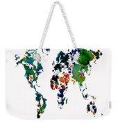 World Map 8b Weekender Tote Bag