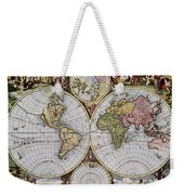 World Map, C1690 Weekender Tote Bag