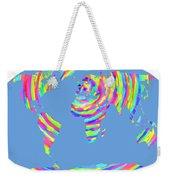 World Map Radial Eurocentric Weekender Tote Bag