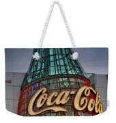 World Of Coca Cola Weekender Tote Bag