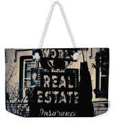 World Real Estate Chicago Weekender Tote Bag
