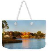 World Showcase Lagoon Before The Show Walt Disney World Weekender Tote Bag