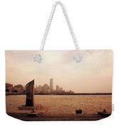 world Trade Center From Pier Weekender Tote Bag