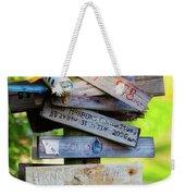 World Traveler Weekender Tote Bag