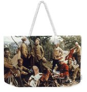 World War I: French Troops Weekender Tote Bag