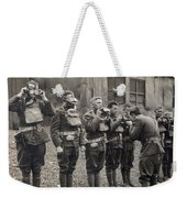 World War I: Gas Masks Weekender Tote Bag