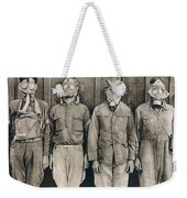 World War I: Gas Warfare Weekender Tote Bag
