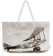 World War I: German Biplane Weekender Tote Bag