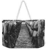 World War I: German Troop Weekender Tote Bag