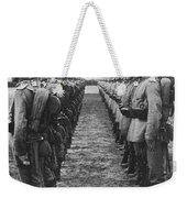 World War I: German Troop Weekender Tote Bag by Granger