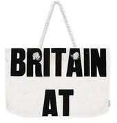 World War I Headline, 1914 Weekender Tote Bag
