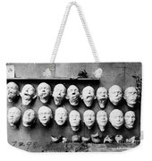 World War I Masks, 1918 - To License For Professional Use Visit Granger.com Weekender Tote Bag