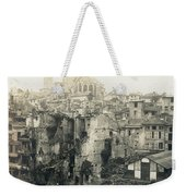 World War I: Verdun Ruins Weekender Tote Bag