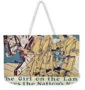World War I Ywca Poster  Weekender Tote Bag